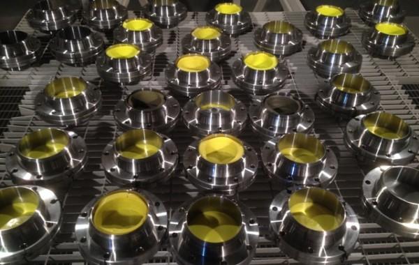 Sabbiatura di ferro, inox, ottone, alluminio e rame